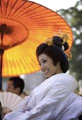 Trad wedding (Sam Ryan Mr.) Tags: wedding japan temple japanese groom bride shrine traditional yukata kimono