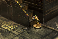 I Torneo de Infinity - Terra Ludica (Aralim) Tags: miniature infinity tag terra wargame ludica