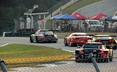 2013 Petit Le Mans - GT Class Battle (gregthestig) Tags: road atlanta ferrari mans le porsche bmw corvette lemans petit