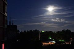 Nocturnal (dipu_megadeth) Tags: moon dark nikon nocturnal moonlitnight