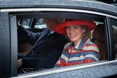 Mathilde en Filip vertrekken van laatste Blijde Intrede (De Wilde photography) Tags: bezoek brussel gewest officieel kroning blijdeintrede