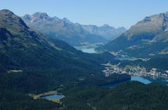 The Engadin lakes (annamaart) Tags: mountains berg schweiz engadin landskap oberengadin graubunden muottasmuragl