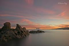 Atardecer otoñal. (Francisco J. Pérez.) Tags: naturaleza nature atardecer mar cádiz playas armonía pentaxart pentax14mm28 pentaxk5 ´franciscojpérez