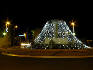 Marseillan (34), illuminations 2010