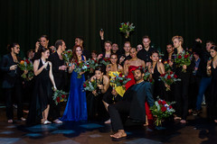 Cast (Luxor Theater) Tags: blue red yellow dance rotterdam nederland zuidholland luxortheater isabellebeernaert