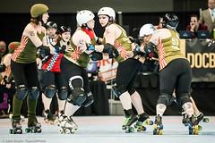 20131207.RCRG-RCR_1404 (Axle Adams) Tags: sports rollerderby rollergirls skaters derby skates rcr ratcityrollergirls rcrg rosecityrollers