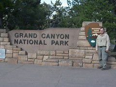 Grand Canyon NP South Rim entry sign (jb10okie) Tags: park travel vacation arizona usa america spring nps grandcanyon nationalparks canyons southrim visitorcenter grandcanyonnationalpark 2013 npssigns