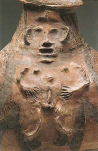 Lajja Gauri. China. Majiayao. 3200-2000 bc.