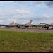 Portugese F-16 and French Rafales