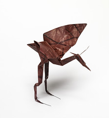 Origami création - Didier Boursin - Héron