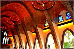 Sala de recepci Josep Puig i Cadafalch, Codorniu, Sant Sadurn d'Anoia. (Angela Llop) Tags: spain arquitectura wine eu catalonia catalunya cava penedes modernisme bicri510004204 wlmri510004204