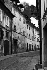 Ljubljana in b&w (I Enjoy My Life) Tags: bw slovenia ljubljana
