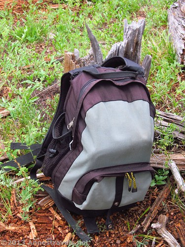 forest meadow backpack daypack (Photo: Anne's Travels 4 on Flickr)