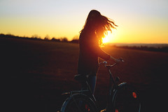 A January Day that felt like Summer (dotzke) Tags: winter sunset summer nature girl beautiful field bike bicycle sunrise canon germany hair lens outside 50mm golden back movement aperture nikon soft december dof bokeh curves natur january young move teen curly german hour lensflare flare hairstyle somber sonneuntergang fahrrad goldenhour januar teenage hairs lightroom staffelberg vsco vscocam