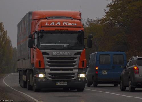 Scania R420 'Laa Trans' (UA)