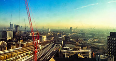 Sarf (Chak!) Tags: winter streets skyline londonbridge observation high view southlondon clearsky iphone somethinglondon