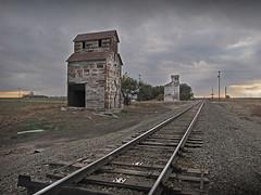 Gano Grain Elevators (ginosalerno.com) Tags: old elevator grain kansas