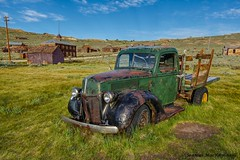 Green Transportation (HavCanon.WillTravel) Tags: ghosttown bodie hdr oldtrucks fdrtools us395california canon5dmkii