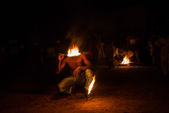 The fire ceremony vudu, sokode, togo (anthony pappone photography) Tags: africa travel light night canon fire african magic ceremony westafrica afrika togo voodoo fuoco afrique vudu afryka africantribe sokode
