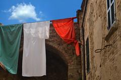 Time to Start Packing (njk1951) Tags: travel sky italy architecture italia arch flag bluesky italianflag italianholiday traveltoitaly blinkagain