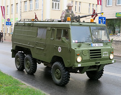 Latvian Army Volvo C306 6x6 (Observe The Banana) Tags: 6x6 truck army volvo latvia 1198 c306