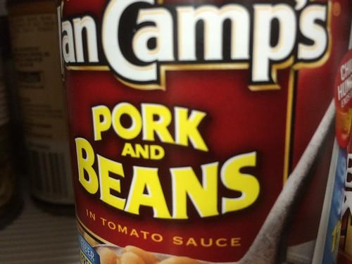 Pork, AND beans!!!!