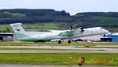 Wideroe De Haviland Canada DHC-8-402Q Dash 8 LN-WDI Departure (Mark 1991) Tags: 8 aberdeen dash dash8 dehavilland abz wideroe dehavillandcanada dhc8 aberdeenairport lnwdi