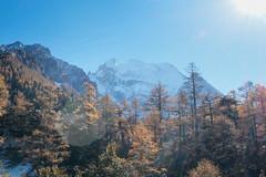 Sacred Mountain (kanki su) Tags: china travel shangrila yading