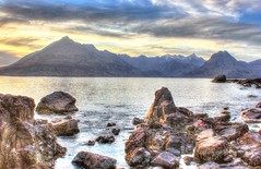 Cuillin from Elgol Beach, Skye (charlieinlesmahagow) Tags: sunset sea sky mountains west skye beautiful yoga spectacular lost island islands coast scotland highlands amazing heaven different wildlife dramatic scottish sunsets peaceful sealife photographic historic dolphins harmony seals destination remote whales unusual loch majestic picturesque magical westcoast heavenly unforgettable hdr unbelievable heavenonearth photogenic endoftheworld greatestplaceonearth dunure birdlife cuillin photograpers elgol mountainstosea singletrackroad blackcuillin bestspot majical heavenandearth spectacularsunsets lochscavaig seamountains remotness sealochs mostphotogenic theblackcuillin hdrused charlieinlesmahagow unusualm veryphotographic lostycivilization greatestlocationinscotland bestlocationinscotland blackcuillian bestforphotography