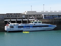 Ger Ger Granville (Coco of Jersey) Tags: lines st ferry boat marine ship jersey portsmouth condor ci weymouth freight guernsey channel poole roro malo austal incat