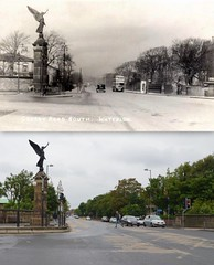Crosby Road South, Waterloo, 1937 and 2014 (Keithjones84) Tags: liverpool thenandnow oldliverpool waterloo crosby rephotography