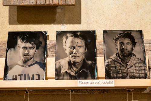 Hunter Metcalf Tintypes - Max Lowe - Conrad Anker - Renan Ozturk