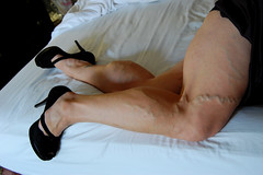 DSC_0300jj (ARDENT PHOTOGRAPHER) Tags: highheels muscular veins calves flexing veiny bodybuildingwoman