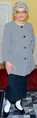 Ingrid023011 (ingrid_bach61) Tags: pleatedskirt faltenrock blazer mature