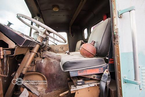 Safeway truck  White Freightliner