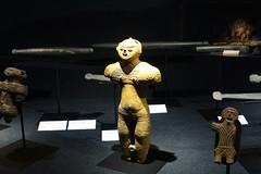 Clay Figurine (sjrankin) Tags: 21september2016 edited sapporo hokkaido japan hokkaidomuseum figure clay figurine