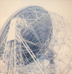 (auspices) Tags: polaroid week sx70 color impossible project jodrell bank derby telescope radar satellite