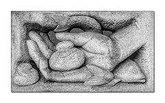 41/52: Hands (Explored) (hehaden) Tags: hand loaves fishes sculpture loavesandfishes ericgill brighthelmcentre brighton sussex 52photos2016