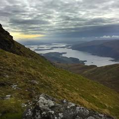 Ben Lomond slopes towards Loch Lomond (barronr) Tags: scotland lochlomondthetrossachsnationalpark benlomond theptarmigan loch lomond