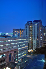 Malam di Mangga Dua (BxHxTxCx (more stuff, open the album)) Tags: jakarta building gedung city kota architecture arsitektur fotomalam nightshoot