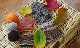 Knitting like a Latvian