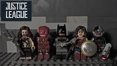 LEGO Justice League (2017) (The Brick FORCE !!!) Tags: lego legoland league justice aquaman batman wonder woman flash cyborg superman dc comics minifigure trailer