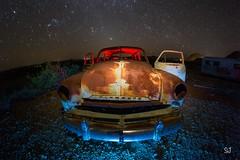 Bail out (Aztravelgrl (Sandra Jungling)) Tags: terlingua texas usa abandon ghosttown lightpainting longexposure lowlight nightphotography unitedstates us
