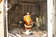 Hard Times at the Workshop (adamkmyers) Tags: santaclaus abandoned santasworkshop easternshore