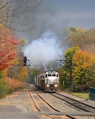 Wide Open (DJ Witty) Tags: m636 montreallocomotiveworks train alco freight locomotive railroad c636 c424 c420