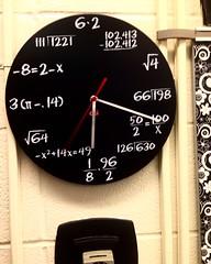 If Mathematics Made Clocks.... (Solomon Oceliger Tigcelot) Tags: calculus geometry fractions algebra clock math