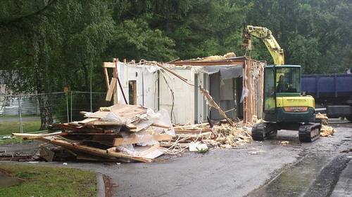 Hesburger Käpylä demolition
