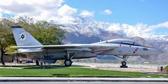 F-14A 160898/AJ-101 VF-41 preserved Palm springs,CA (C.Dover) Tags: 160898 160898aj101 f14a palmspringsca preserved usnavy usstheodoreroosevelt vf41
