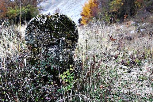 Old grave rock