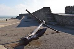 Pier & Anchor : Porthcawl (cmw_1965) Tags: porthcawl pier anchor rust corrosion port breakwater